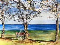 """Lake Michigan Luncher"" 8x10 $100"