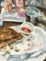 """""""Sanibell Toast & Tip"""" 8x10 $100"""