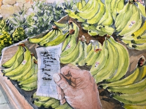 """""""Don't Forget Banannas"""" 8x10 $100"""