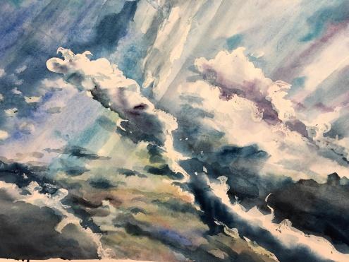 Storm over Port Washington