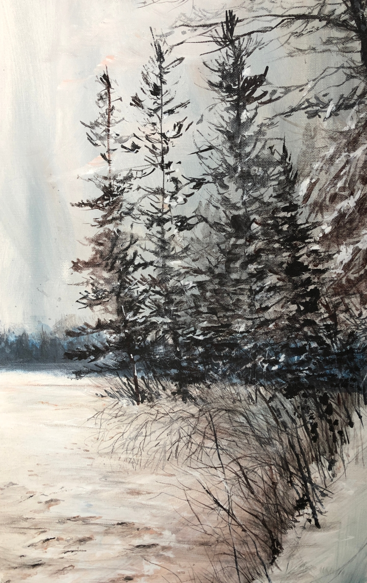 Winter Acrylic