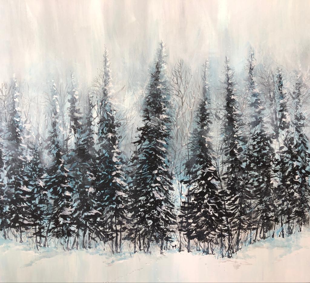 Winter Acrylic