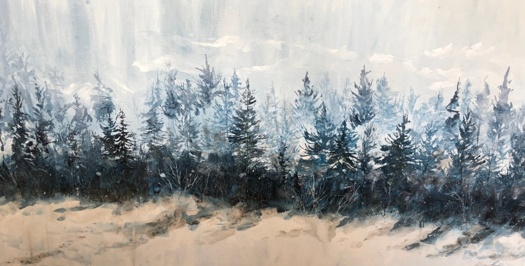 Wintery Painting